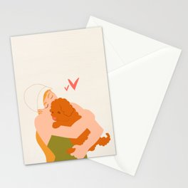 Golden Doodle Puppy Love Stationery Cards