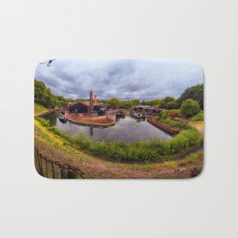 Black Country Living Museum Boat Yard Peaky Blinders Bath Mat