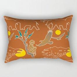 Plains Of Africa Rectangular Pillow