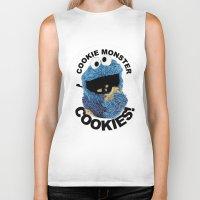 cookies Biker Tanks featuring COOKIES! by SwanniePhotoArt