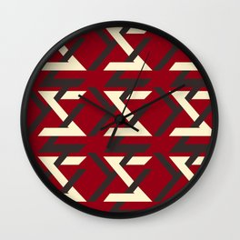 TYPOGRAPHY TTY N17 Wall Clock