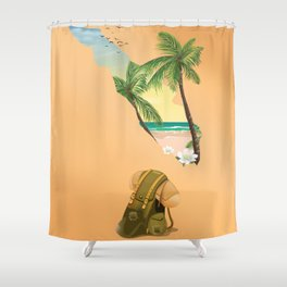 Sumatra Shower Curtain