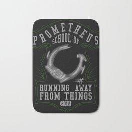 Prometheus school of running away from things V2 Bath Mat