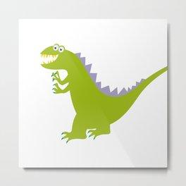 like Godzilla Metal Print