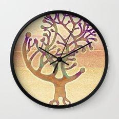 Potombo tree Wall Clock