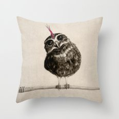 Punk Throw Pillow