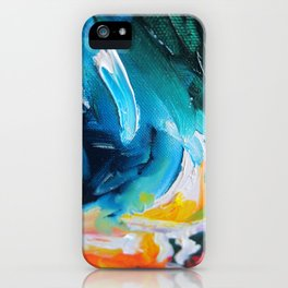 Oasis on Fire iPhone Case