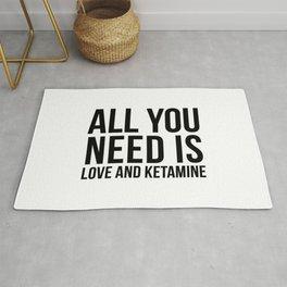 Love and Ketamine | gift idea Rug