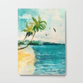 Palm Trees 1 Metal Print
