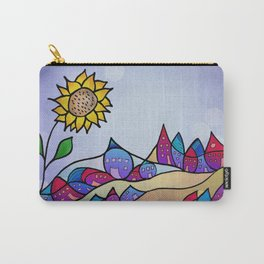 my little village and its sun -2- Carry-All Pouch