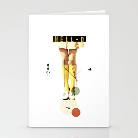Cut The (...) | Collage Stationery Cards