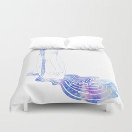 Water Nymph LXXIII Duvet Cover