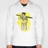 law Hoodies featuring Trafalgar Law by Sammerdoodle Designs