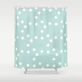 сhristmas tangerine    snow ed. Shower Curtain