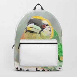 A little bird told me Backpack