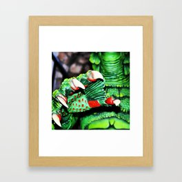 The Creature's Claw Framed Art Print