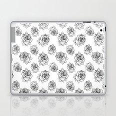 Rose Line Pattern Laptop & iPad Skin