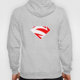 super man logo Hoody