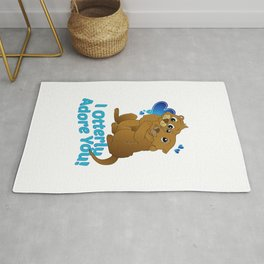 I otterly adore you Rug