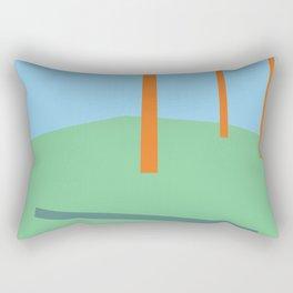 Stick Drop Sound Rectangular Pillow