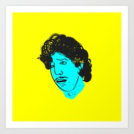 Ross Geller Art Print