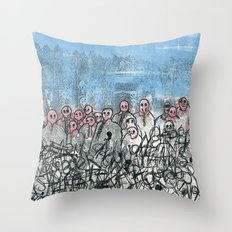 This is war Throw Pillow