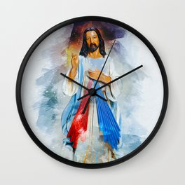 God Is With You Wall Clock