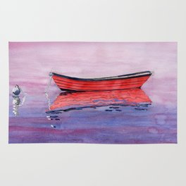 Red Dory Reflections Rug