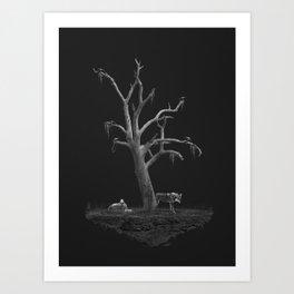 Forgotten Island Art Print