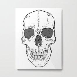 Big Ol' Skull Metal Print