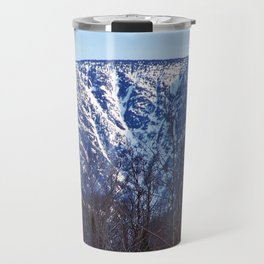 Mountain Crevasses Travel Mug