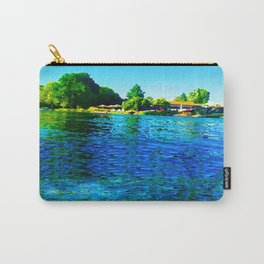 Bright River Flowing Carry-All Pouch