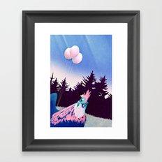 What the Hegg (Pink Version) Framed Art Print