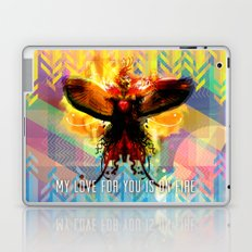 My Love For You Is On Fire Laptop & iPad Skin