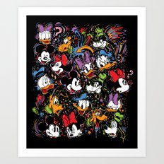 Emotion Explosion Art Print
