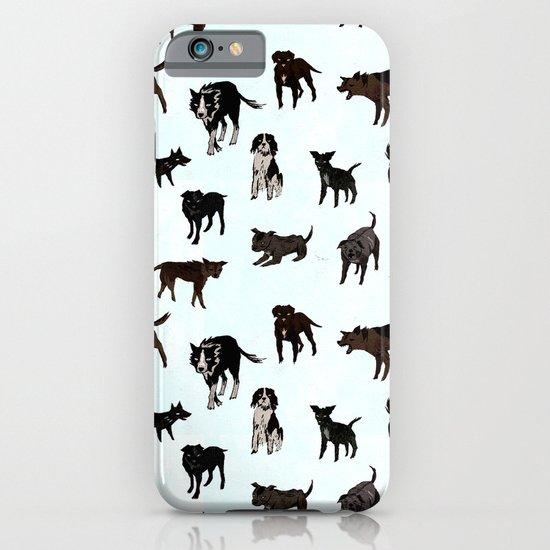 Dog pattern iPhone & iPod Case