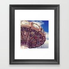Merry - Go - Round Framed Art Print