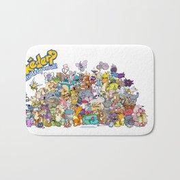 Pokémon - Gotta derp 'em all! - Group photo Bath Mat