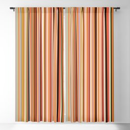 Old Skool Stripes - Morning Blackout Curtain