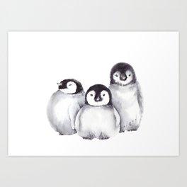 Baby Penguins Kunstdrucke