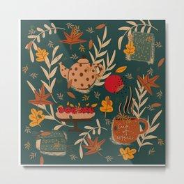 Fall essentials Metal Print