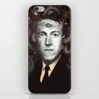 lovecraft iPhone & iPod Skins featuring H.P. Lovecraft  by MATT DEMINO