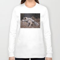 werewolf Long Sleeve T-shirts featuring Werewolf by Monster Brand
