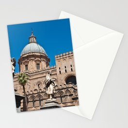 CATHEDRAL of PALERMO in SICILY Stationery Cards