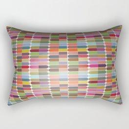 Colorful 3D Ball Rectangular Pillow