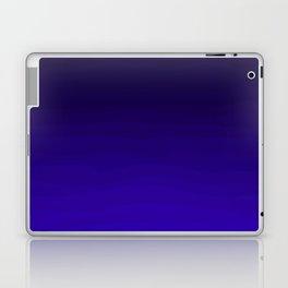 Deep Dark Indigo Ombre Laptop & iPad Skin
