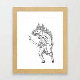 S1: Coyote.  Framed Art Print