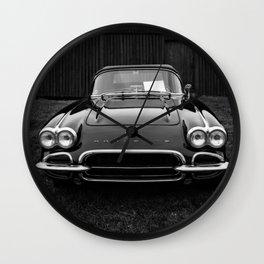 Classic Chevrolet Corvette  Wall Clock