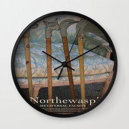 Northewasp's Auctions Wall Clock