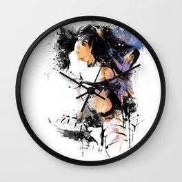 Shibari - Japanese BDSM Art Painting #7 Wall Clock